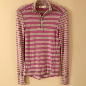 Akini /Merino Wool 1/4 Zip lightweight! S